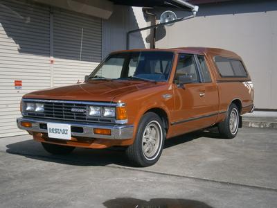 1986 NISSAN 720 PICKUP  KING CAB